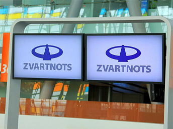 Zvartnots airport posts fifty percent increase in flights and 37 percent in passenger number