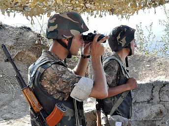Azerbaijani raiders' attempt to penetrate into Nagorno-Karabakh Republic's territory foiled