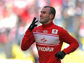 Movsisyan's goal recognized as best from Spartak in 2013