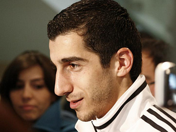 Mkhitaryan named best legionnaire of Ukraine's football championship