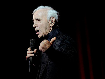 Serzh Sargsyan congratulates Charles Aznavour's on his 90th birth anniversary