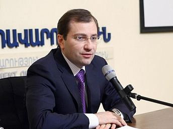 Armenian economy expands 3.5 percent in 2013 and inflation grows 5.6 percent – minister