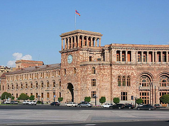 Armenian government's new program to be presented to lawmakers in May