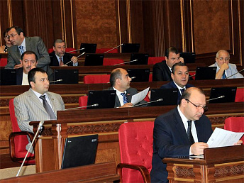 Proposal of setting up commission for investigating March 1, 2008 events put on Armenian Parliament's agenda