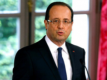France's Hollande arriving in Armenia on state visit