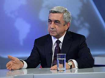 Armenian president receives congratulations on his 60th birthday anniversary