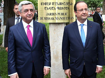 Armenia should have full association relations with EU- French president says