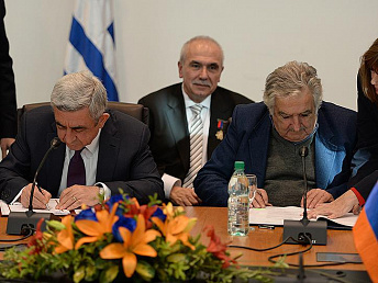 Armenia, Uruguay sign several cooperation agreements