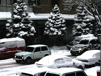 Snow, ice on roads and a drop in temperature expected throughout Armenia