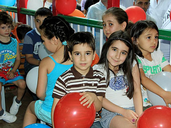Because of malnutrition about 15% of Armenian children suffer from stunting