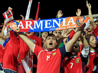 Armenia to face Portugal, Albania, Serbia and Denmark in Euro-2016 qualifiers