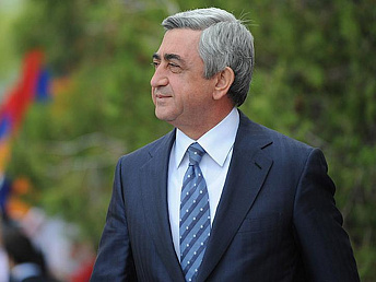 Armenian president heads to Georgia with an official visit