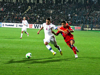 Armenia's football team keeps its current FIFA ranking