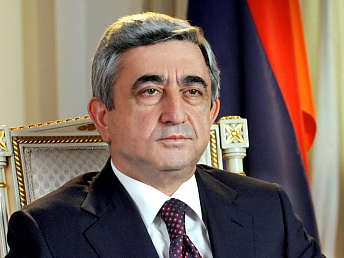 Serzh Sargsyan invites his French counterpart to Armenia