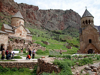 The number of foreign tourists visiting Armenia expected to surge to one million
