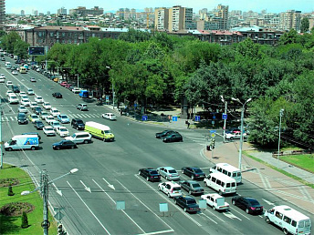 Repair of North Avenue in Yerevan to be over in late August