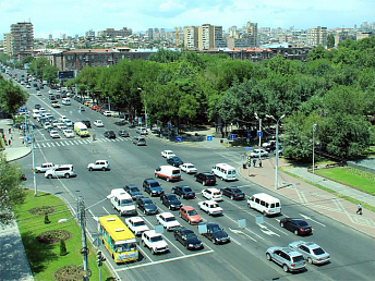 Arshakunyats Avenue-Njdeh Street crossroad traffic in Yerevan to be re-arranged