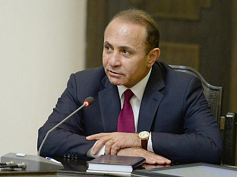 Armenia's premier headed to Sochi