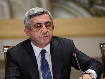 BREAKING NEWS: Armenia's president says he will never run for president again