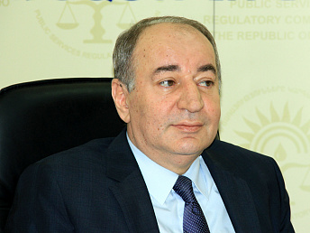 Head of Armenia's PSRC explains why price of Russian gas for households is twice the price at border